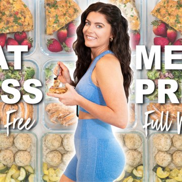 5-DAY WEIGHT LOSS MEAL PREP for Fast Results (grain free)