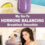 MOOD BOOSTING HORMONE BALANCING SMOOTHIE to Boost Mood & Energy