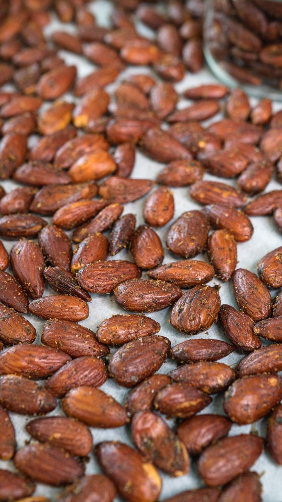 Ranch Roasted Almonds | Homemade & Low Carb Healthy Snack!