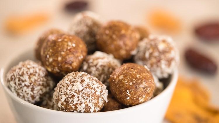 No Bake Mango Pineapple Energy Balls | Easy Healthy Snacks