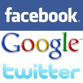 Image result for medios sociales facebook google de