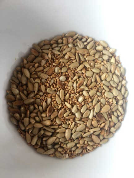 seeds in bowl