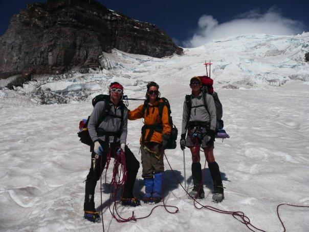Alex - Rainer climb