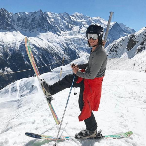 Alex - random skiing