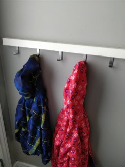 kids jacket hook organizer
