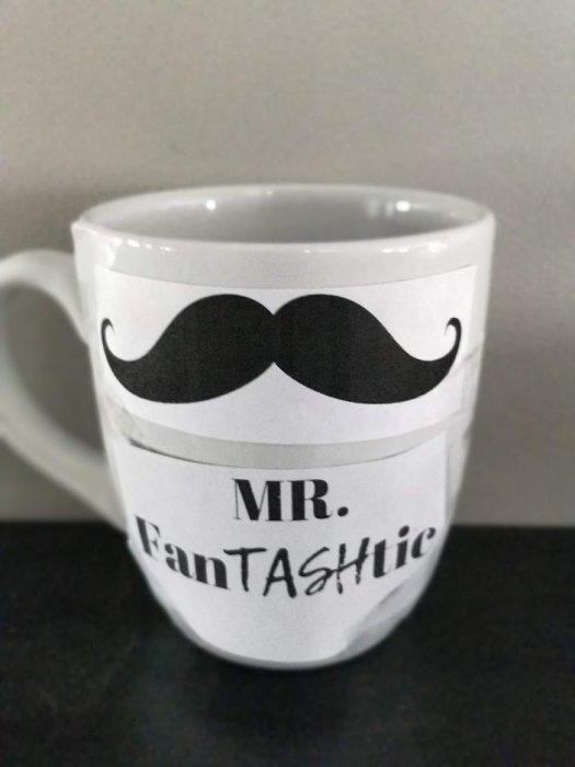 DIY Sharpie Mug Man gift