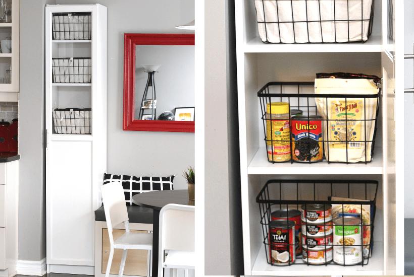 ikea billy hack kitchen freestanding pantry