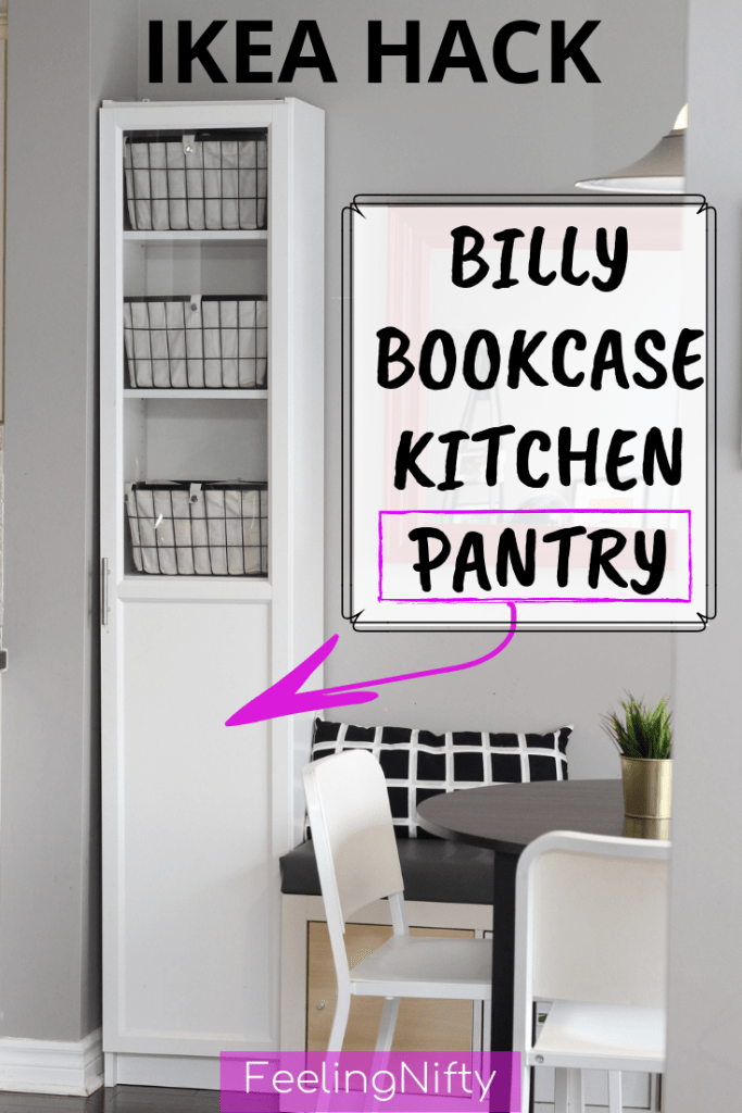 ikea billy hack kitchen pantry cabinet