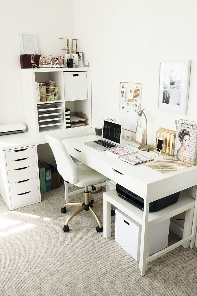 21 Awe Inspiring Ikea Desk Hacks That Are Affordable And Easy