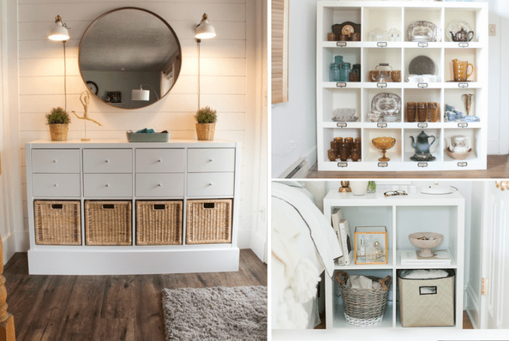 31+ Clever IKEA Kallax Hacks to Organize your Entire Home