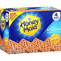 Nabisco Honey Maid Graham Crackers, Honey  4-14.4oz