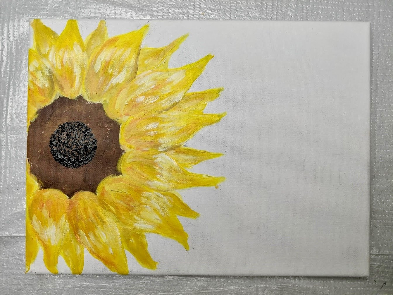 easy to draw sunflowers