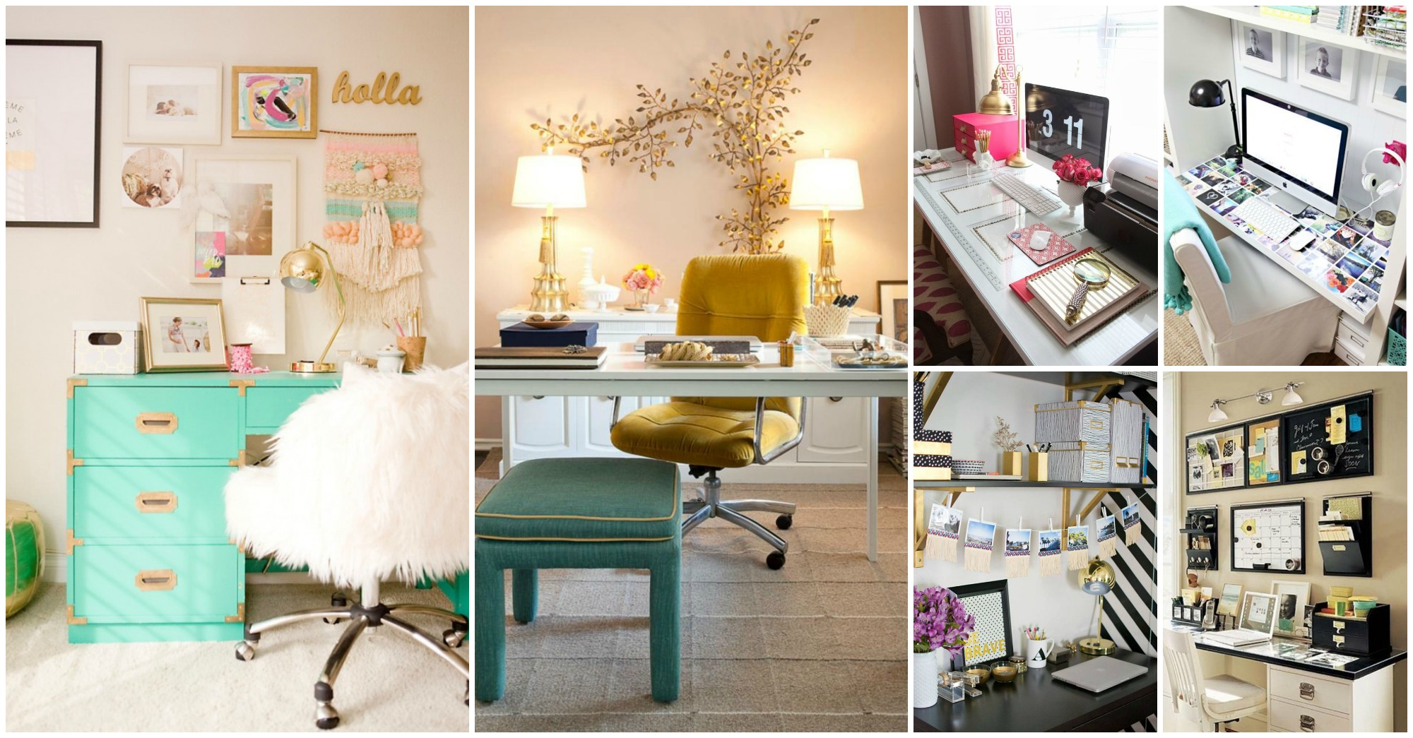 20 + Inspiring Home Office Decor Ideas That Will Blow Your