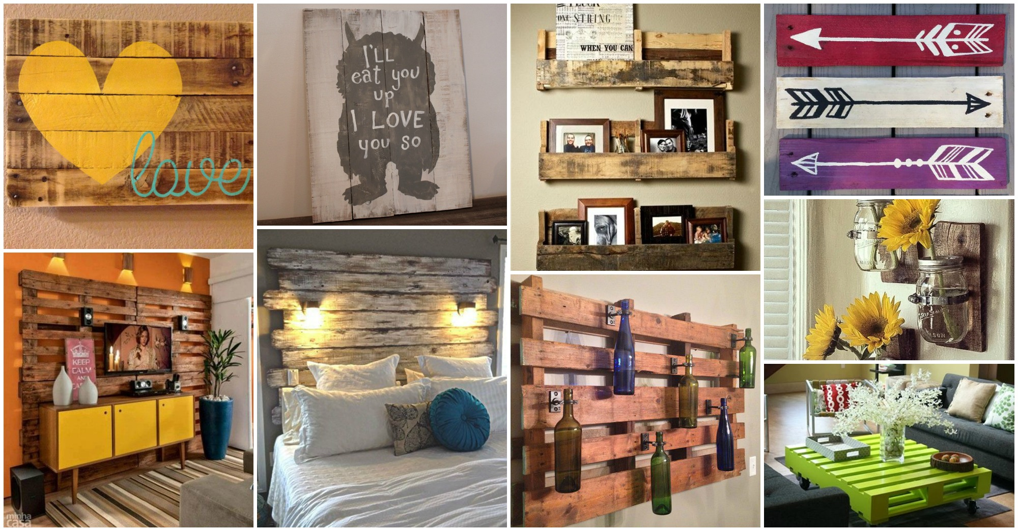 25 Pallets Decor Ideas That Will Boost Your Creativity on Pallets Design Ideas  id=84078