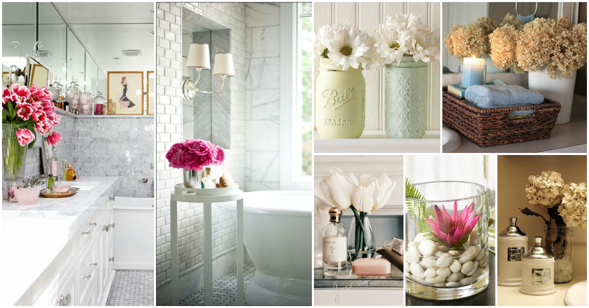 Bathroom decor blossoms xoxo - How to decorate your bathroom ...