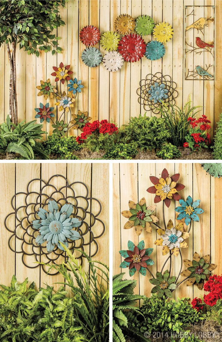 Inspiring Garden Fence Decor Ideas For Your Dream Garden on Backyard Wall Decor Ideas  id=89511
