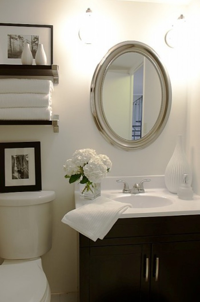 Relaxing Flowers Bathroom Decor Ideas That Will Refresh ... on Small Bathroom Ideas id=88200