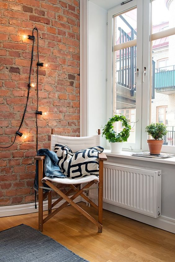 Breathtaking Exposed Brick Walls Interiors That You Will ... on Brick Wall Decorating Ideas  id=24094