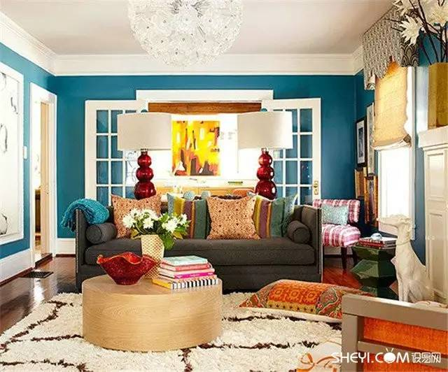 Colorful Living Room Home Decor For Cheerful Souls on Colourful Living Room  id=74601