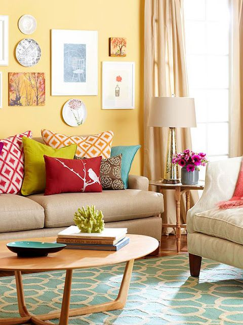 Colorful Living Room Home Decor For Cheerful Souls on Colourful Living Room  id=79004