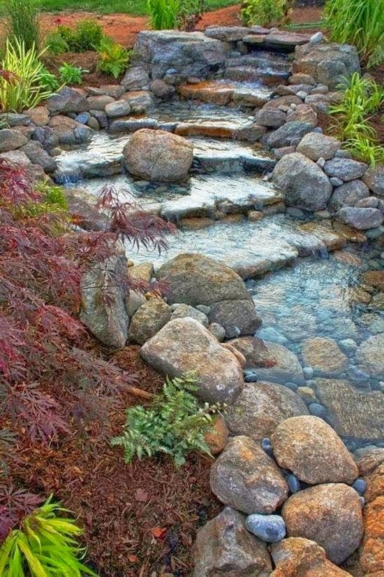 Backyard Waterfalls and Ponds To Beautify Your Outdoor Decor on Pond Ideas Backyard id=56071