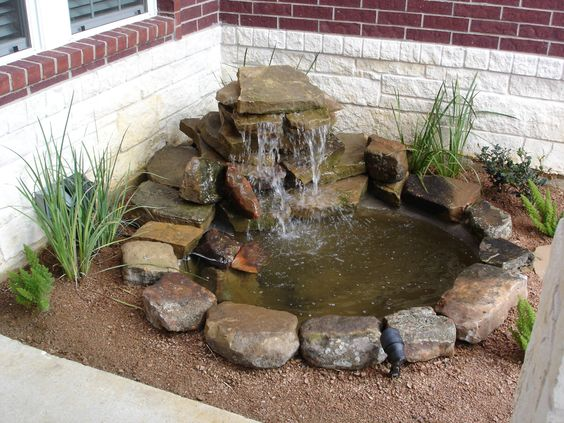 20+ DIY Backyard Pond Ideas On A Budget That You Will Love on Front Yard Pond  id=48397