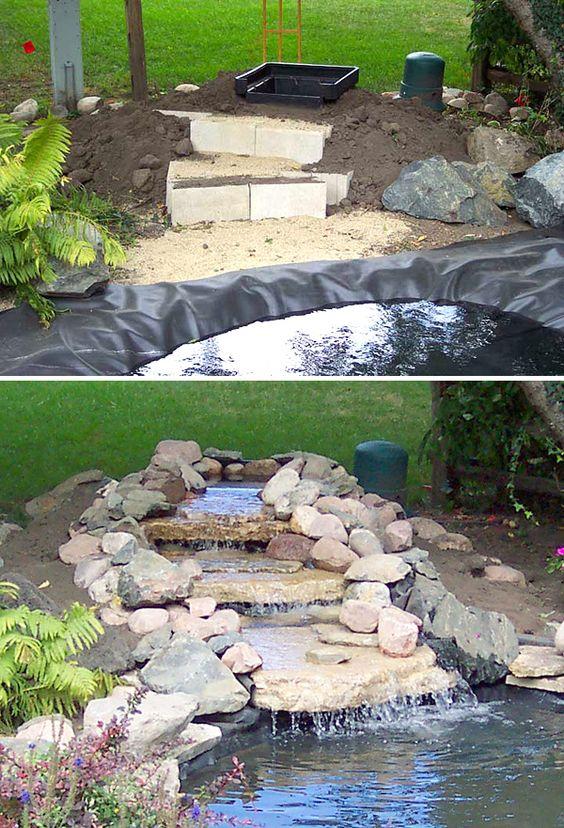 20+ DIY Backyard Pond Ideas On A Budget That You Will Love on Pond Ideas Backyard id=38378