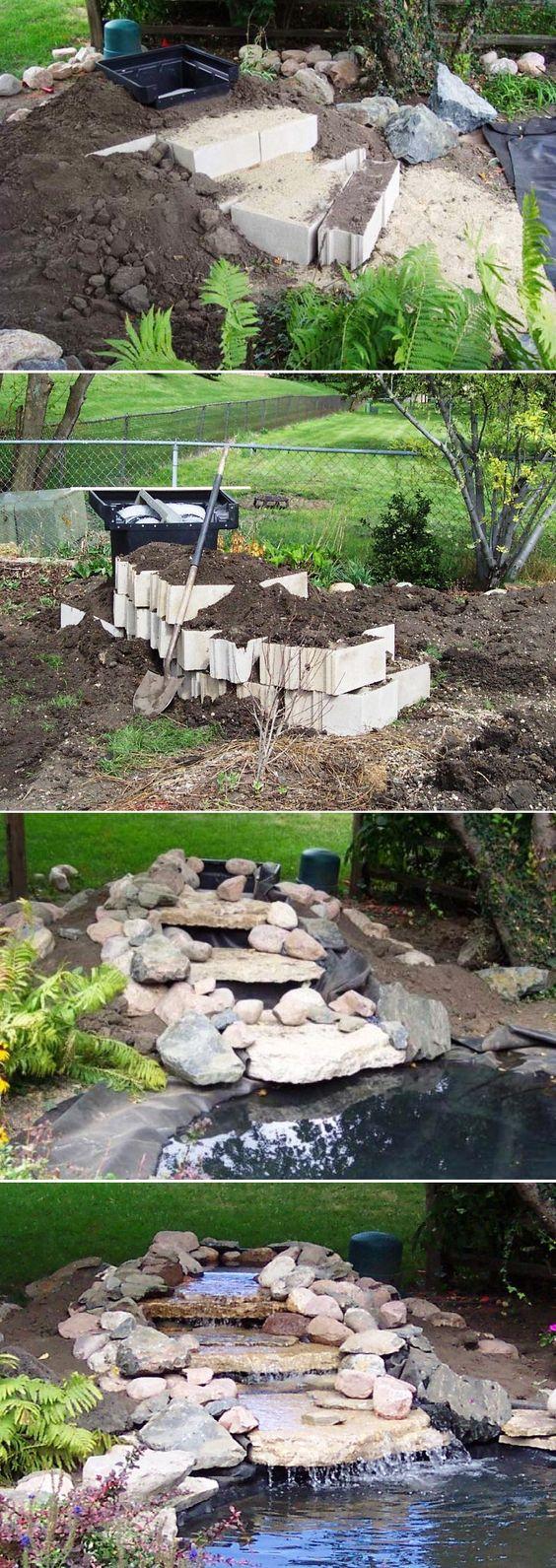 20+ DIY Backyard Pond Ideas On A Budget That You Will Love on Pond Ideas Backyard id=85390