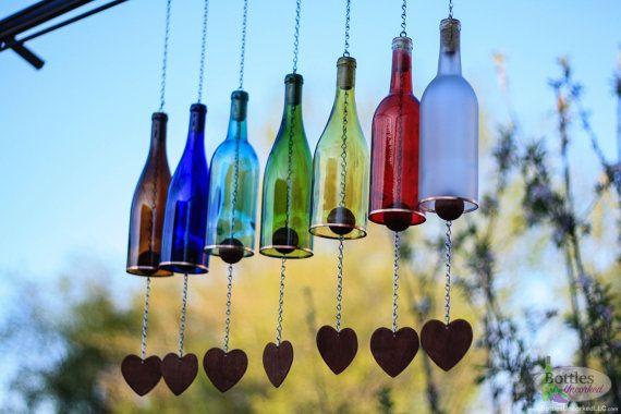 botellas de vino-jardín-decor12