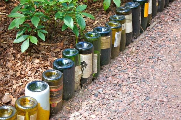 botellas de vino-jardín-decor2