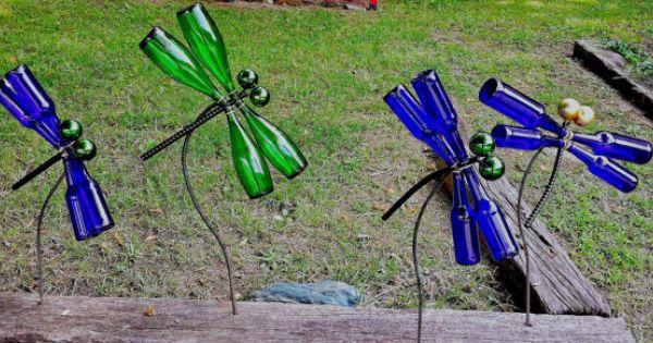 botellas de vino-jardín-decor3