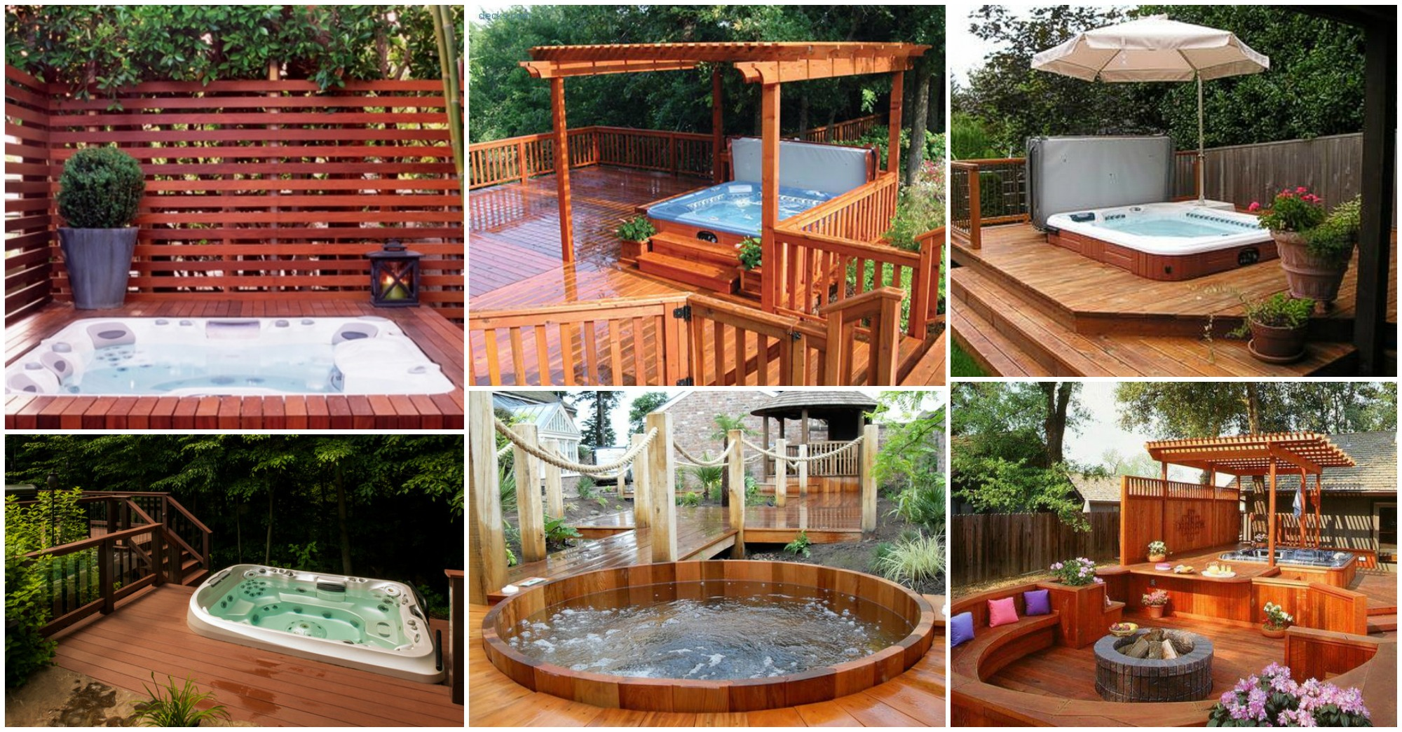 Deck Design Ideas With Hot Tubs That Will Blow Your Mind on Deck And Hot Tub Ideas  id=49850