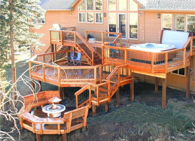 Deck Design Ideas With Hot Tubs That Will Blow Your Mind on Deck And Hot Tub Ideas  id=48236