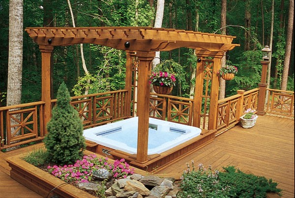 Deck Design Ideas With Hot Tubs That Will Blow Your Mind on Deck And Hot Tub Ideas  id=76701