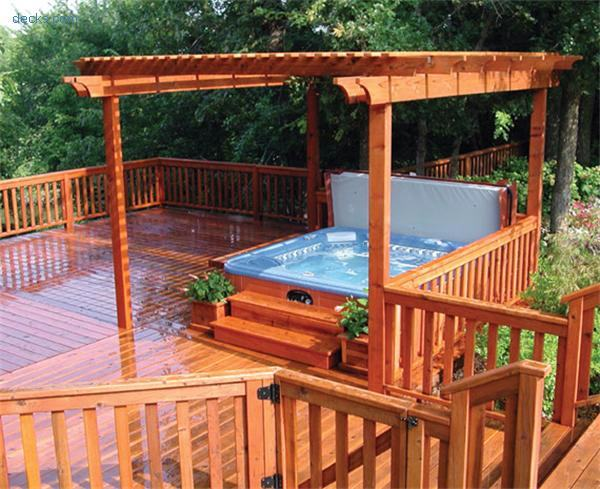 Deck Design Ideas With Hot Tubs That Will Blow Your Mind on Deck And Hot Tub Ideas  id=89575