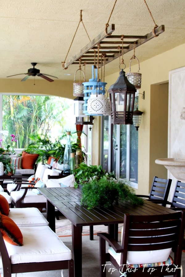 DIY Outdoor Chandelier Ideas That Will Make A Statement on Picture Hanging Idea  id=57500