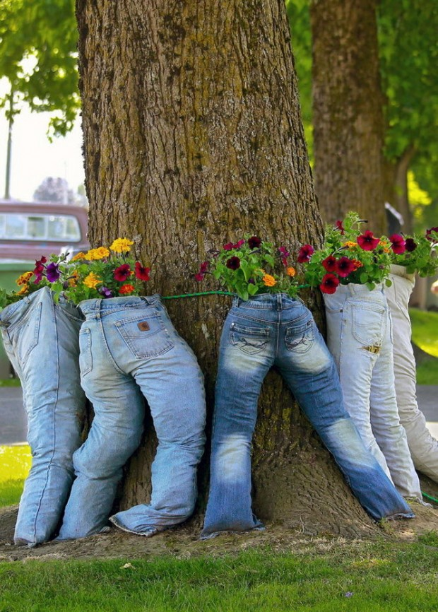 Recycled Garden Projects That Will Beautify Your Garden on Tree Planting Ideas For Backyard id=18288