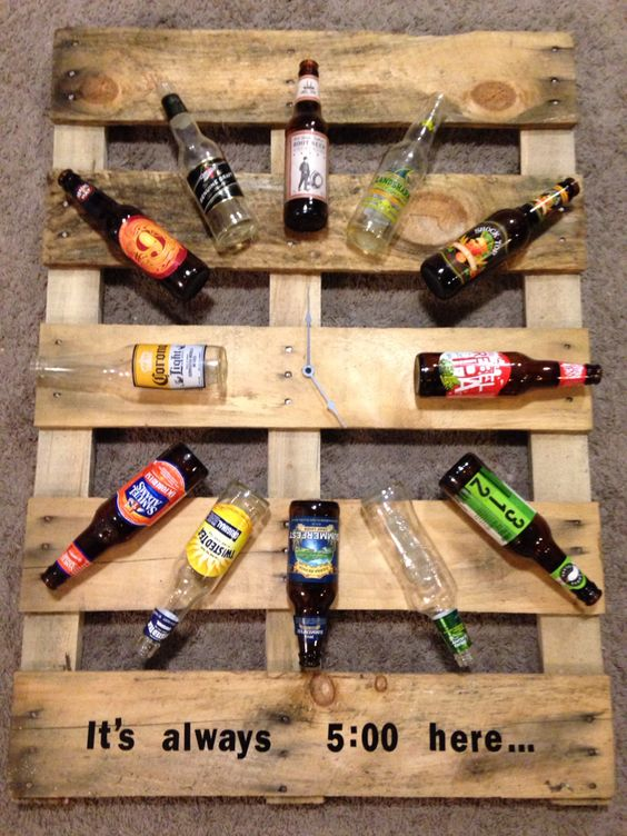DIY Beer Bottles Crafts That Will Boost Your Creativity