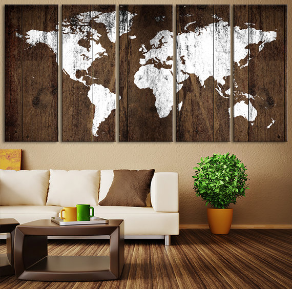 Rustic Wall Art Ideas To Spice Up The Atmosphere on Pinterest Wall Decor  id=83410