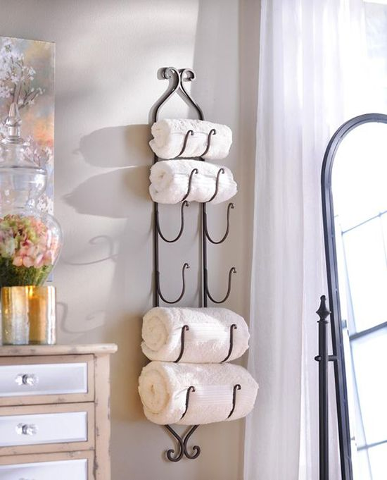 useful bathroom towel storage ideas that you will love