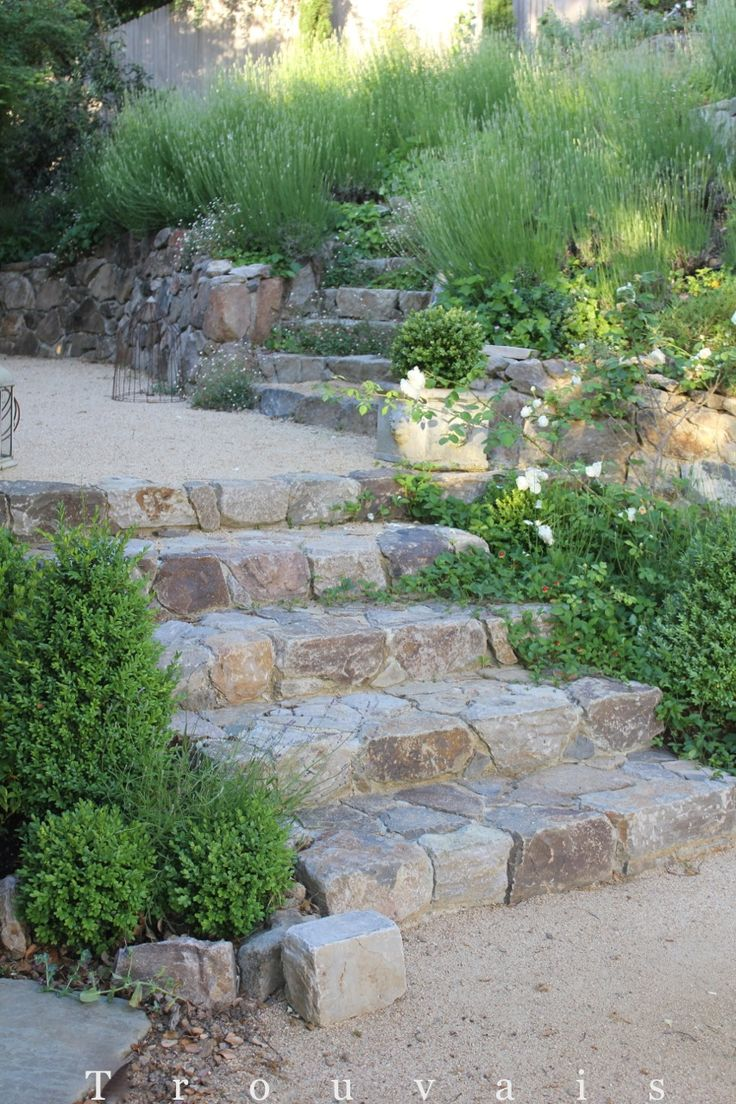 Gorgeous Garden Stone Steps That Will Amaze You on Backyard Patio Landscaping id=78499