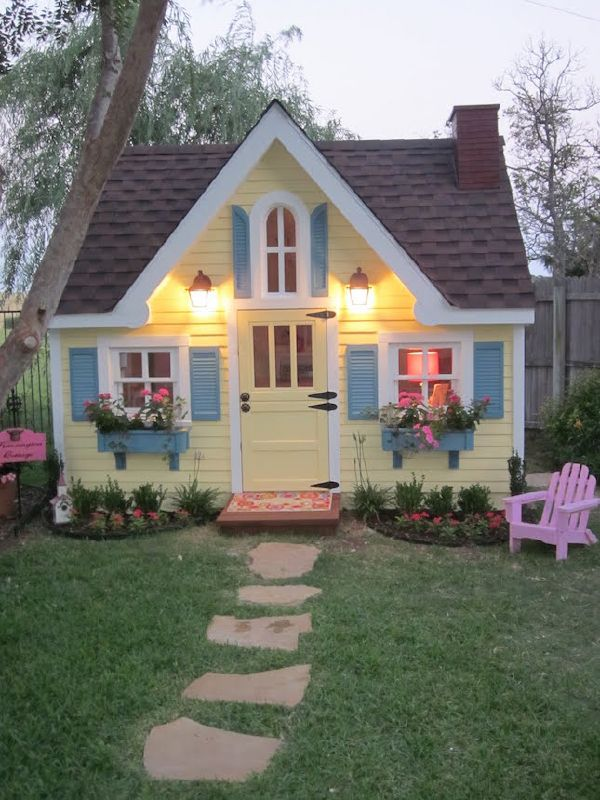 Great Backyard Cottage Ideas That You Should Not Miss on Bungalow Backyard Ideas id=77235