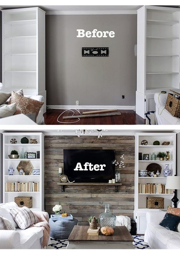 Pallet Wall Decor Ideas To Warm Up Your Atmosphere on Pallet Room Ideas  id=69890