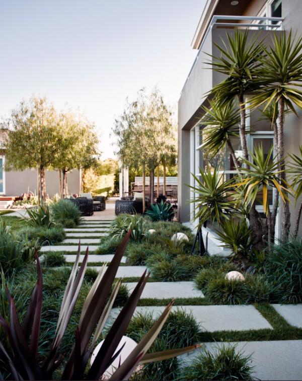 Fascinating Garden Walkways For Modern Outdoor Setting on Backyard Patio Landscaping id=42278