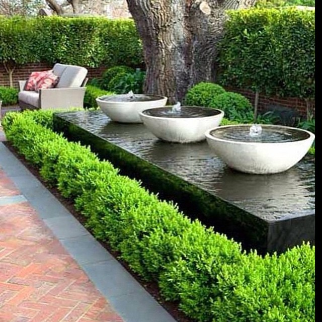 20 Stunning Garden Water Features That Will Leave You ... on Water Feature Ideas For Patio id=74342