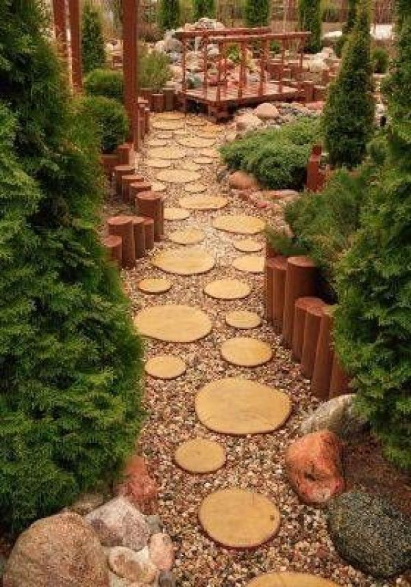 Wooden Garden Features That Are Simply Amazing on Backyard Patio Landscaping id=62140