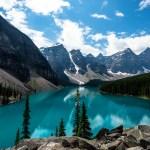 Moraine Lake, Banff, Alberta Canada
