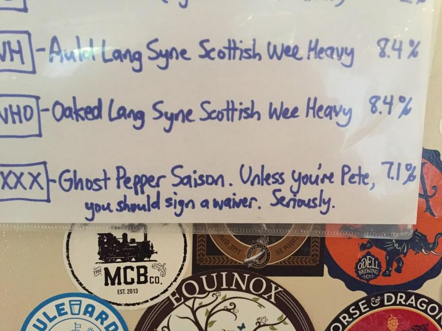 Steiningtonfest Beer List