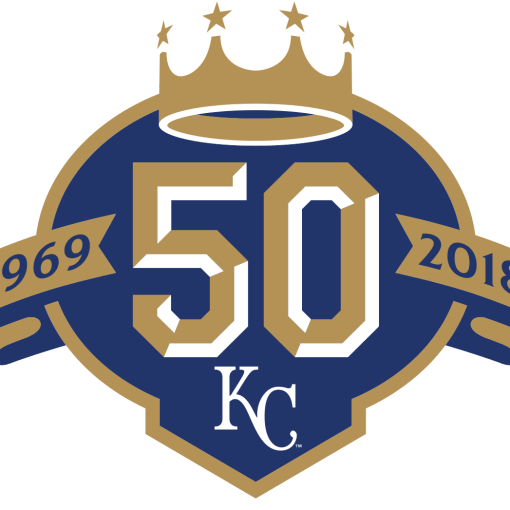 Kansas City Royals 50th Logo