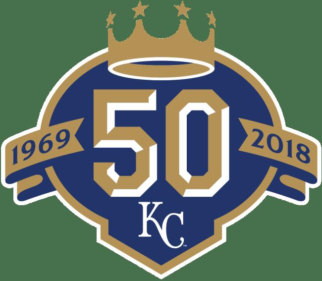 Kansas City Royals 50th Logo